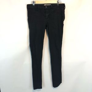 Hollister Super Skinny Jeans Black Denim 29